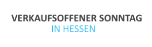 Hessen: Verkaufsoffener Sonntag am 19.10.2014