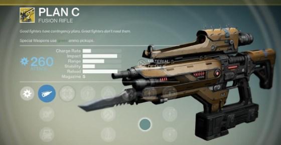 Plan C Fusion Rifle diese Woche bei Xur im Angebot