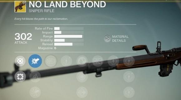 Kein Land Außerhalb: Das exotische Scharfschützengewehr bei Xur
