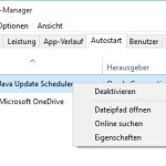 Windows 10 Autostart aufräumen