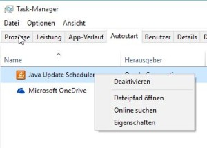 Autostart in Windows 10 anpassen
