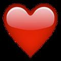Rotes Herz Whatsapp Profilbild