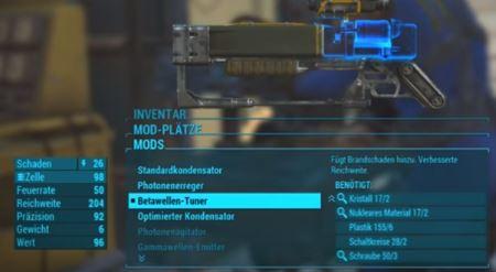 Allgemeine Tipps zu den Waffen-Mods in Fallout 4