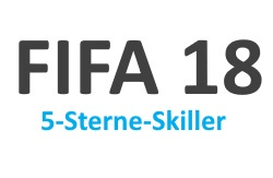 Alle 5-Sterne-Skiller aus FIFA 18