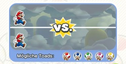 Bunte Toads in Super Mario Run freischalten