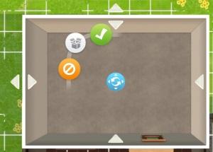 Haus ausbauen in Sims Mobile