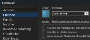 Steam Benutzername ändern