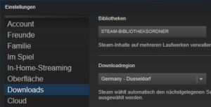 Was tun wenn der Steam-Download stoppt