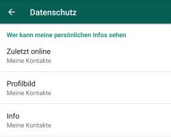 Whatsapp Wer Hat Mein Profil Besucht