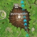 Fortnite Sprungsteine in Dusty Divot finden