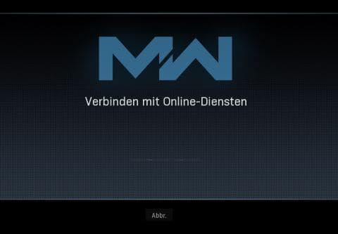 Warzone Verbinden mit Online-Diensten nicht möglich