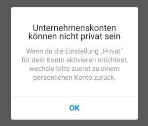 Instagram Privat Machen