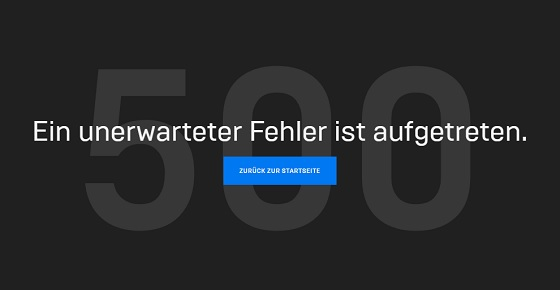 Epic Games Launcher Fehler 500