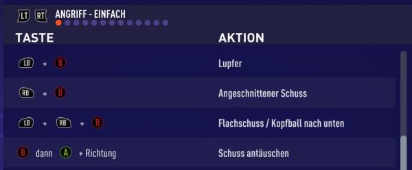 FIFA 21 Flachschuss Tastenkombination
