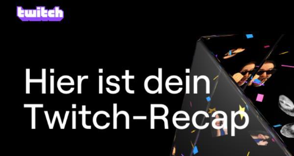 Twitch Recap 2020 sehen