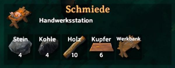 Valheim Schmiede upgraden