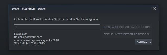 Valheim Server nicht gefunden