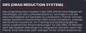 F1 2021 DRS aktivieren