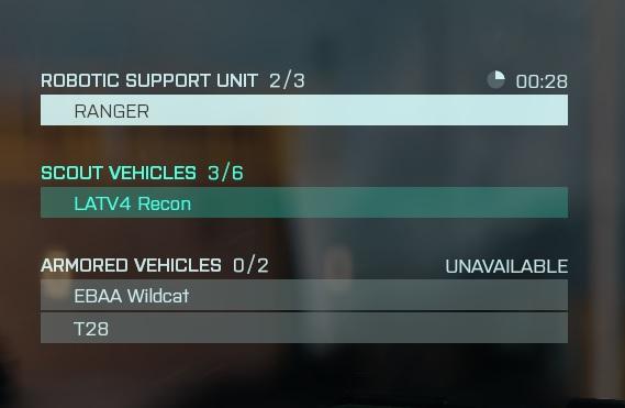 Battlefield 2042 Hund und Fahrzeuge anfordern